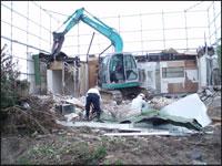 解体工事の職人の意識向上